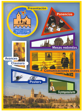 Cartel del XII Congreso SEPEAP Salamanca 1998