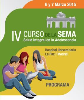 Se amplía el plazo de envío de comunicaciones al IV Curso de la SEMA- Salud Integral en la Adolescencia