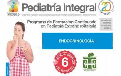 La Endocrinología a repaso en el nuevo número de Pediatría Integral