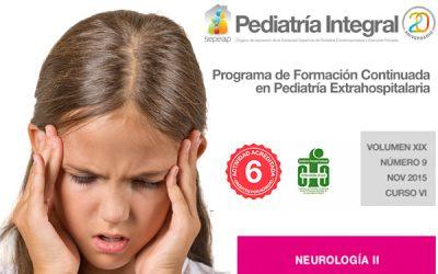 Segundo número dedicado a la Neurología publicado por Pediatría Integral