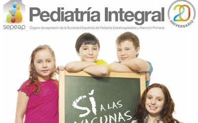 Número dedicado a las Vacunas en Pediatría Integral
