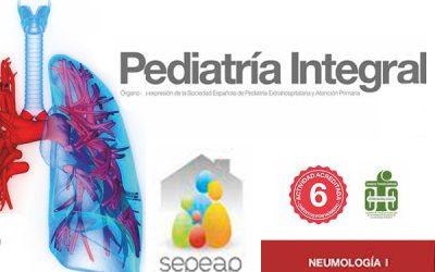 Primer número de Pediatría Integral de 2016 dedicado a la neumología
