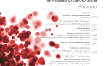 Nuevo número de Pediatría Integral, dedicado a la hematología