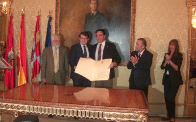 Venancio Martínez nombrado huesped de honor de la ciudad de Salamanca