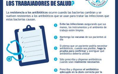 La atención primaria española lucha contra la prescripción inadecuada de antibióticos