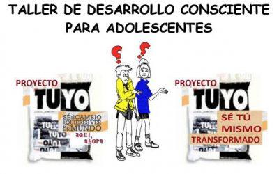 Taller de desarrollo consciente para adolescentes