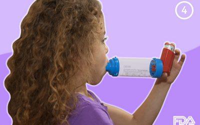 No existe mayor riesgo de neumonía en niños con corticoterapia inhalada