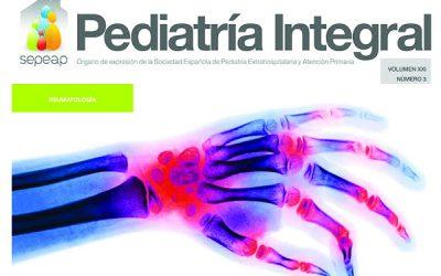 Ya ha salido el último número de Pediatría Integral dedicado a la Reumatología