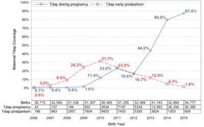 Continuemos vacunando frente a tosferina a las embarazadas