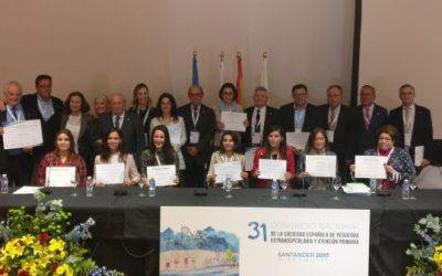 Premios del XXXI Congreso SEPEAP de Santander