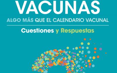 Vacunas, algo más que el calendario vacunal