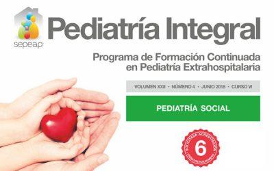 Pediatría Integral sale con un nuevo número dedicado a la Pediatría Social