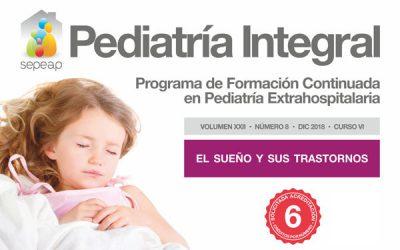 Último número del año de Pediatría Integral dedicado al sueño