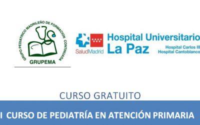 XXI Curso de Pediatría en Atención Primaria de GRUPEMA