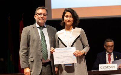 Premio mejores posters presentados al 33 Congreso de la SEPEAP de Toledo en 2019