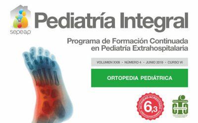 La ortopedia pediátrica en la Atención Primaria, tema de Pediatría Integral