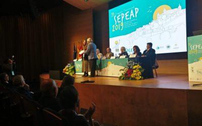 Premios del 33 Congreso SEPEAP celebrado en Toledo