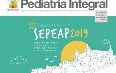 Pediatría Integral saca el número especial dedicado al 33 Congreso de la SEPEAP celebrado en Toledo