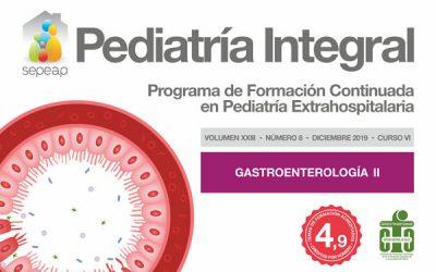 Segundo número dedicado a la Gastroenterología en Pediatría Integral