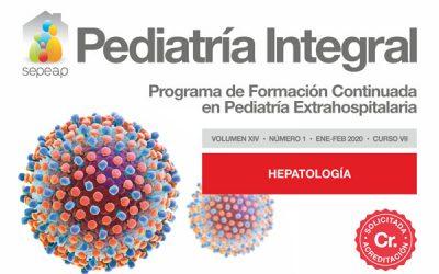 Publicado el nuevo número de Pediatría Integral, dedicado a la Hepatología