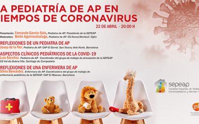 Webinar – La pediatría de AP en tiempos de coronavirus