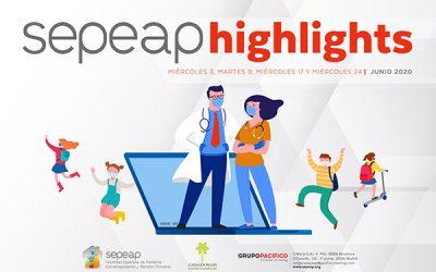 SEPEAP HIGHLIGHTS, webinars de temática pediátrica