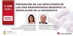 Prevención de las Infecciones de las vías respiratorias mediante la modulación de la microbiota