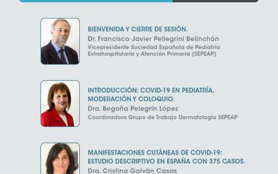 Implicaciones COVID-19 en dermatología pediátrica. Estudio COVID-Piel