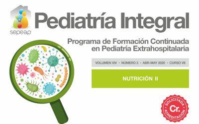 Acreditados los cinco primeros números de Pediatría Integral de 2020
