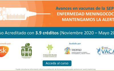 Curso de Avances en vacunas de la SEPEAP – Enfermedad Meningocócica: Mantengámos la alerta