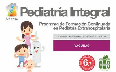 Último número de Pediatría Integral de 2020 dedicado a las vacunas
