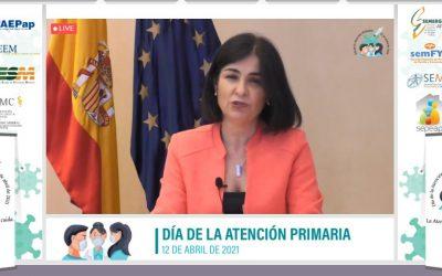 Carolina Darias avanza reformas e inversiones para reforzar el SNS desde la Atención Primaria