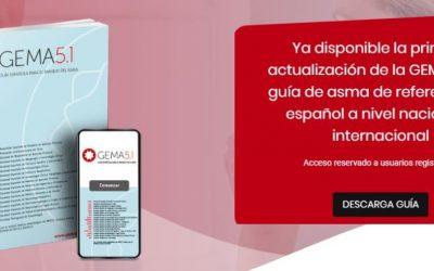 """Disponible para descarga la Gema 5.1, la actualización de la """"Guía de manejo de asma"""" en español"""