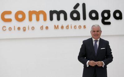 Nuestro socio el Dr. Pedro Navarro, proclamado presidente del Colegio de Médicos de Málaga