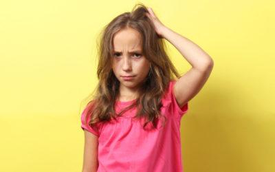 El problema de los piojos en los niños