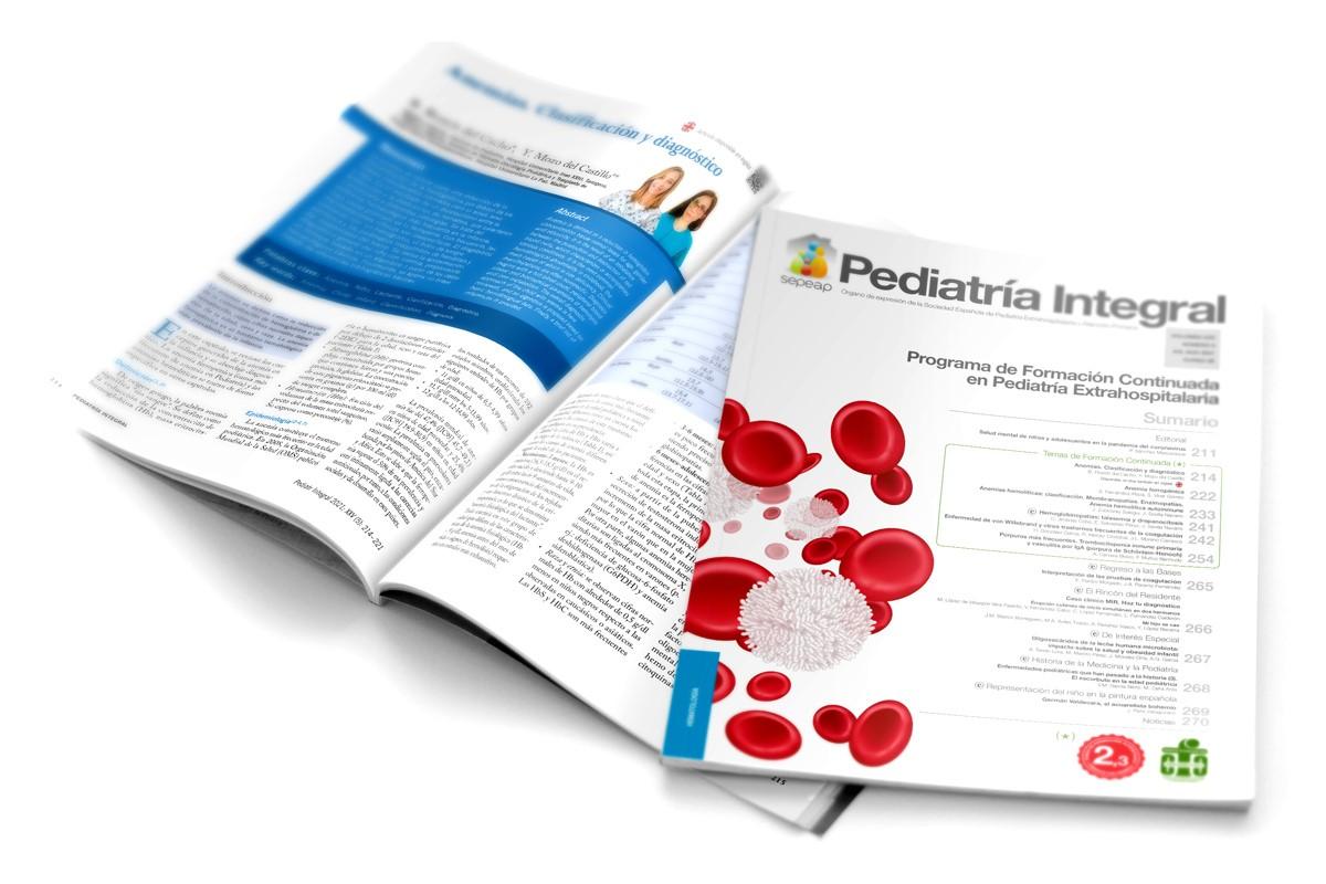 Pediatría Integral agosto 2021