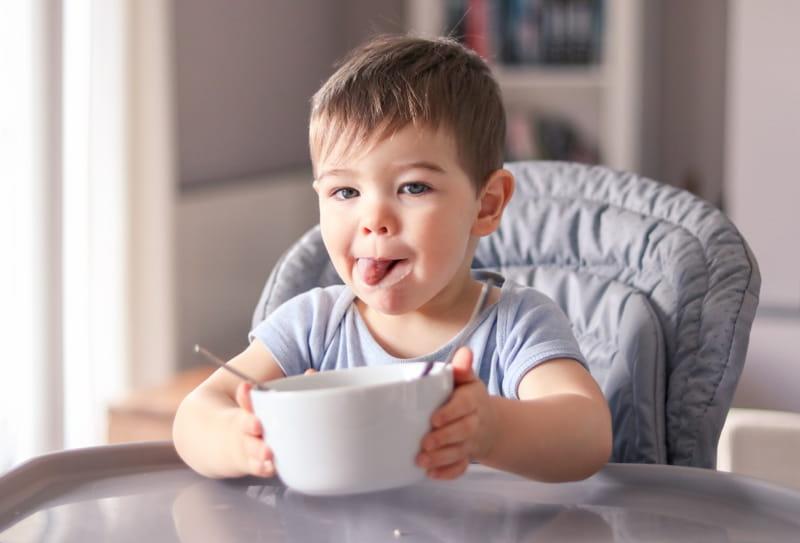 Consejos para un niño bien alimentado