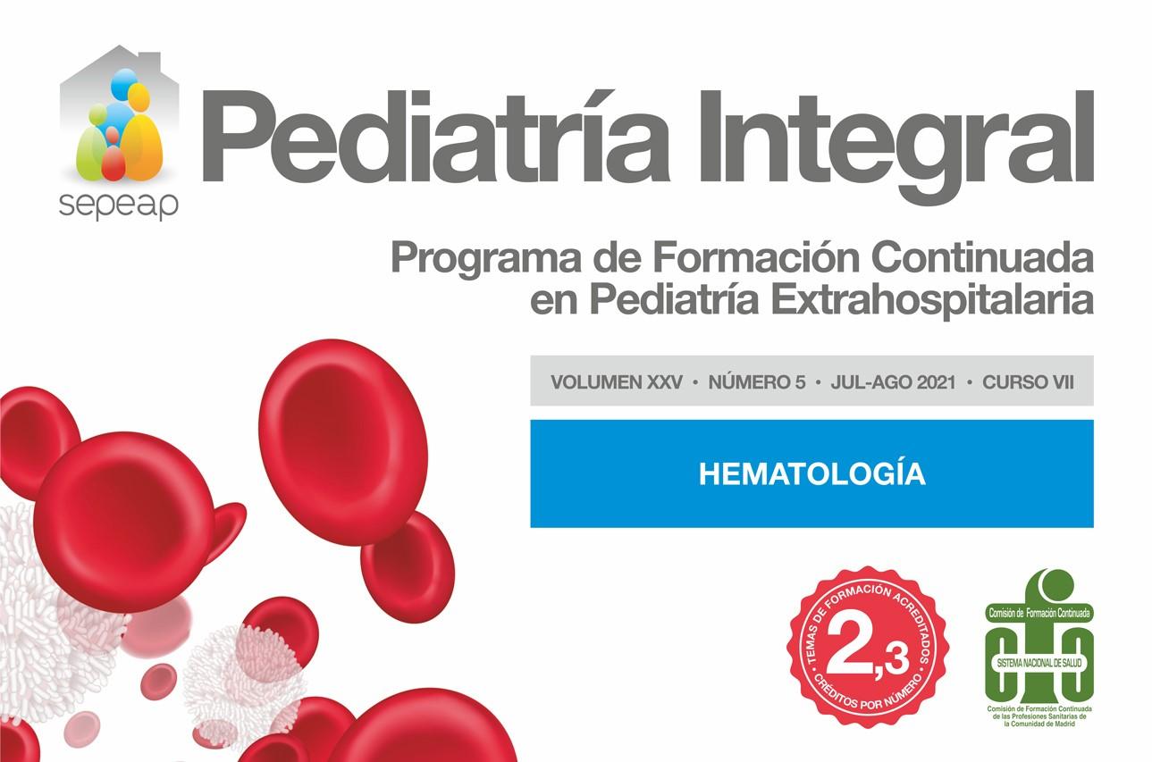 Pediatría Integral número de agosto 2021 Hematología