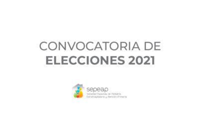 Convocatoria de elecciones 2021