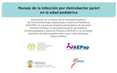 Publicado el documento de Consenso sobre manejo de la infección por Helicobacter pylori en la edad pediátrica
