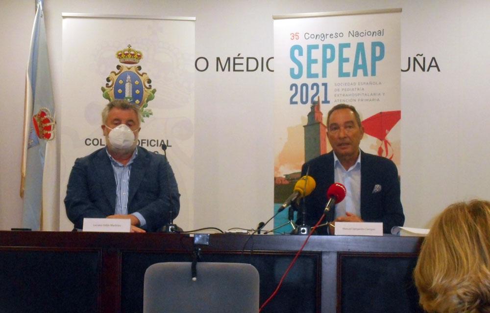 rueda de prensa 35 congreso nacional de la SEPEAP