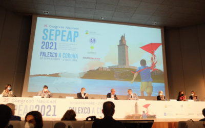 Listado de premiados durante el Congreso de la SEPEAP