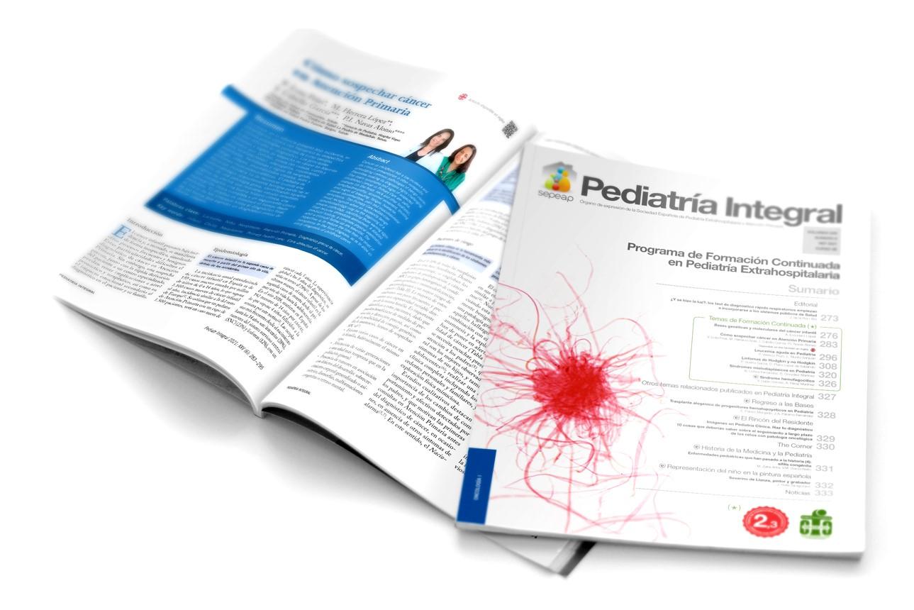 Número seis Pediatría Integral
