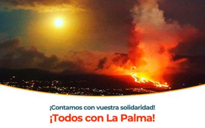 La SEPEAP crea una cuenta bancaria solidaria para recaudar fondos para La Palma